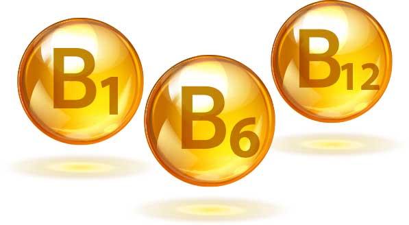 Vitamin B1, B6, dan B12